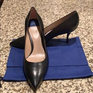Stuart Weitzman Black High Heel Shoes - SZ 9